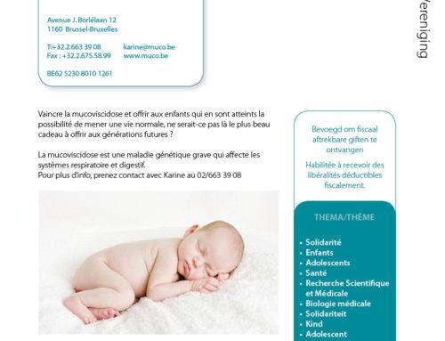 Belgische vereniging voor strijd tegen Mucoviscidose VZW